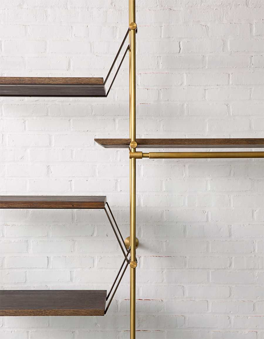 The Collectoru0027s Shelving System By Amuneal. A Fully Adjustable Modular  System Of Shelves And Credenzas