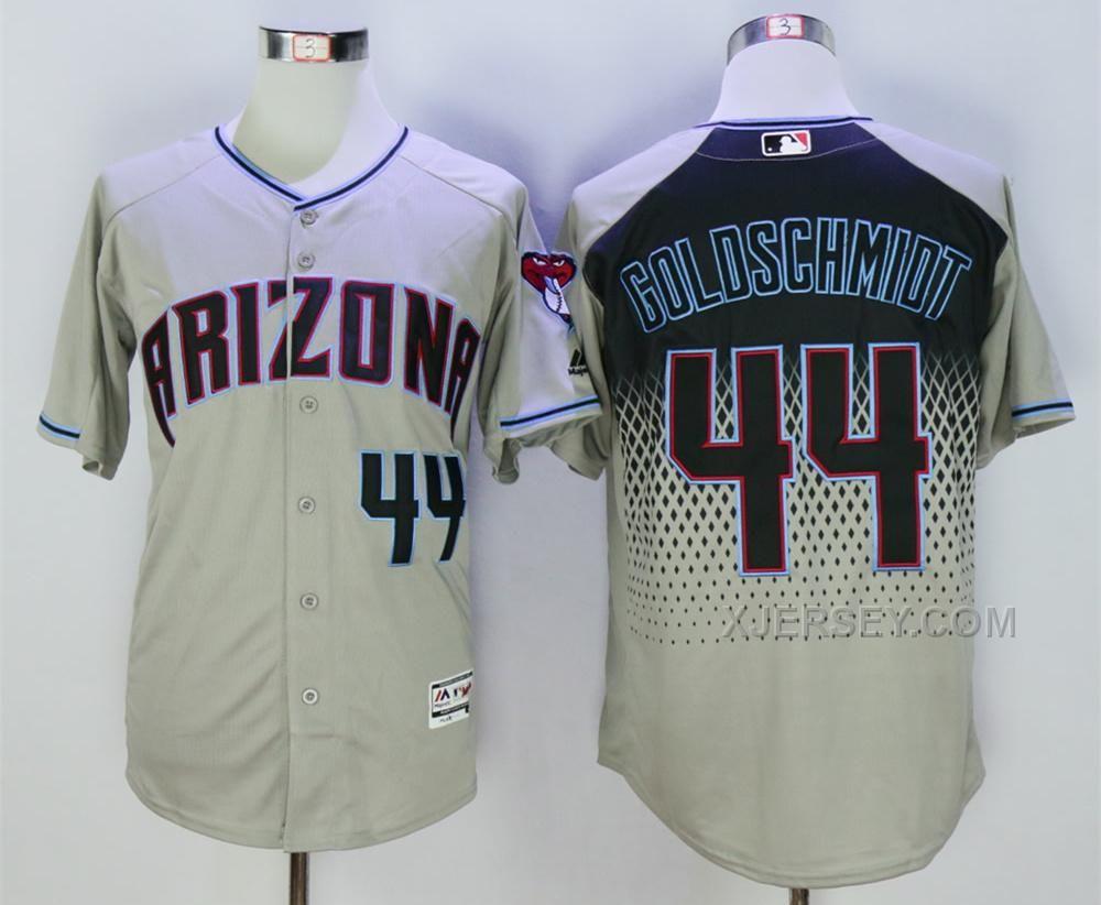 e1f5be83dbc buy arizona diamondbacks paul goldschmidt gray capri new cool base stitched  baseball jersey lastest from reliable