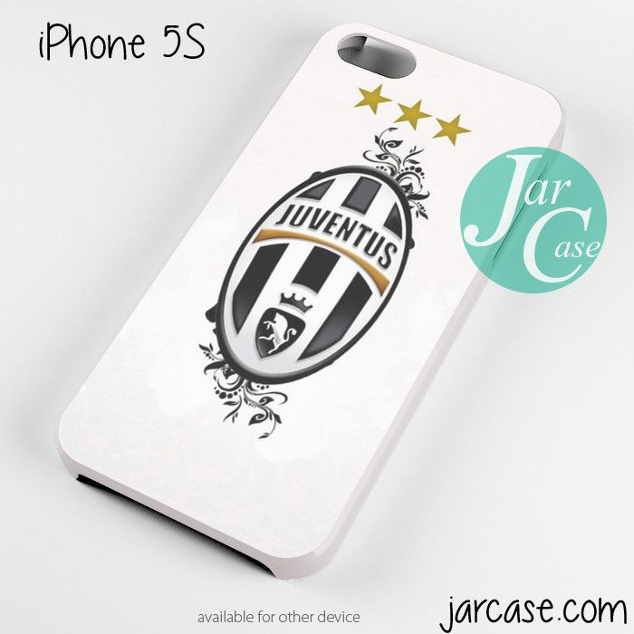 juventus floral logo Phone case for iPhone 4/4s/5/5c/5s/6/6 plus