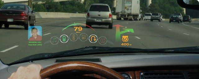 Microvision In Vehicle Hud Concept Head Up Display Automobile Industry Bmw Hud