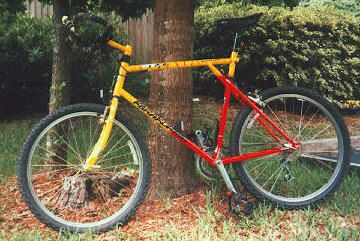 A quiver of early  90 s GT mountain bikes. The one s I couldn t afford back  then. ff3ac244f