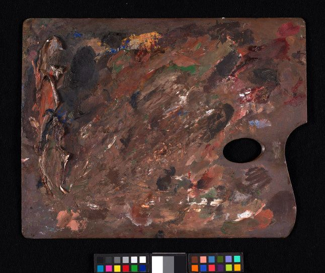 J M W  Turner's Chelsea palette at the Tate | The Artist's