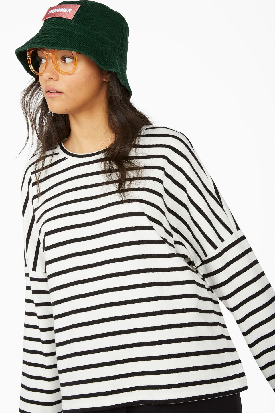 Oversized sweater Black stripes Sweatshirts & hoodies