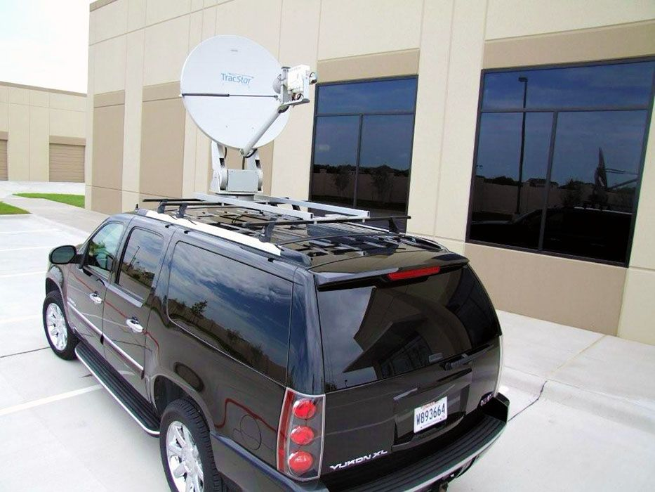 Mobile Responder Mr Satellite Antenna System For Emergency