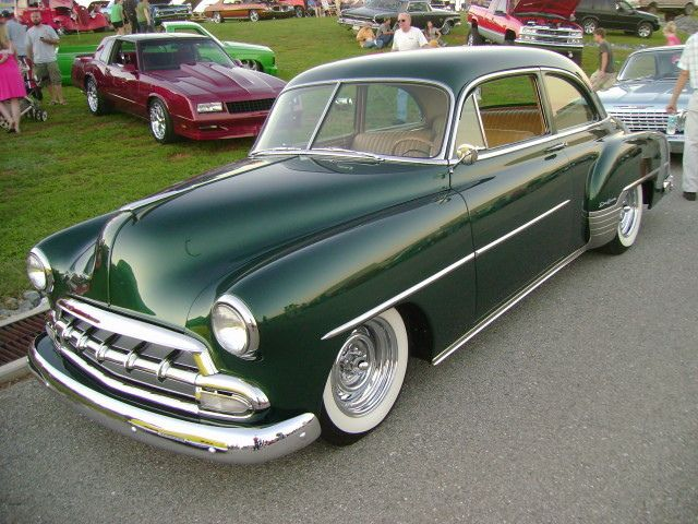 1952 Chevy Deluxe Chevy Futuristic Cars Classic Cars