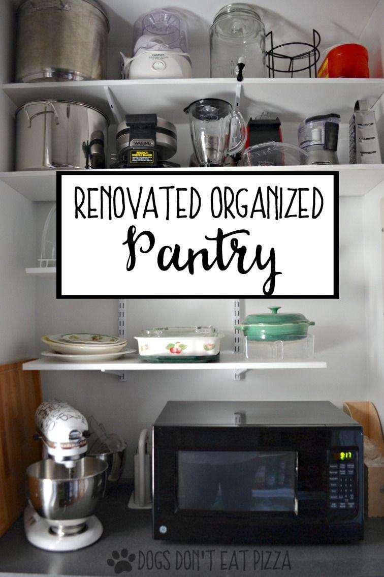 Organized Kitchen Pantry Kitchen Organization Pantry Pantry Organization Kitchen Organization