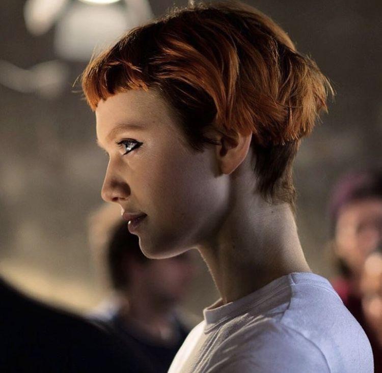 Pin By Emma Pechmann On Fryzury Boring Hair Edgy Hair Short Hair Styles