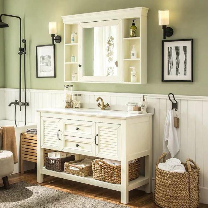 China Custom Modern Bathroom Furniture Cabinets ...