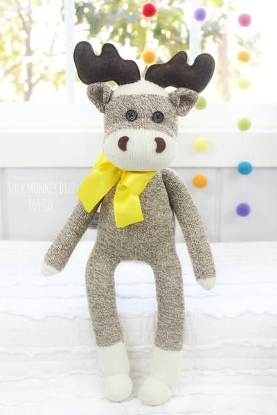 Sock Moose Plush Doll