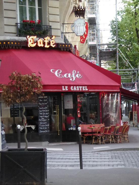 Castel Cafe in 2020 Restaurant, Paris restaurants, Paris