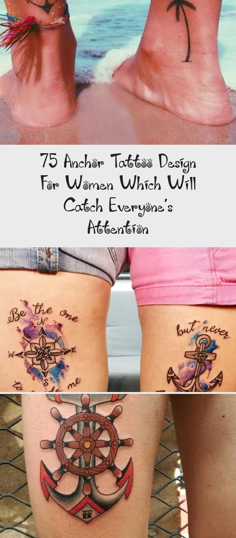 75 Anchor Tattoo Design for Women which will catch everyone's attention - Vogueitude