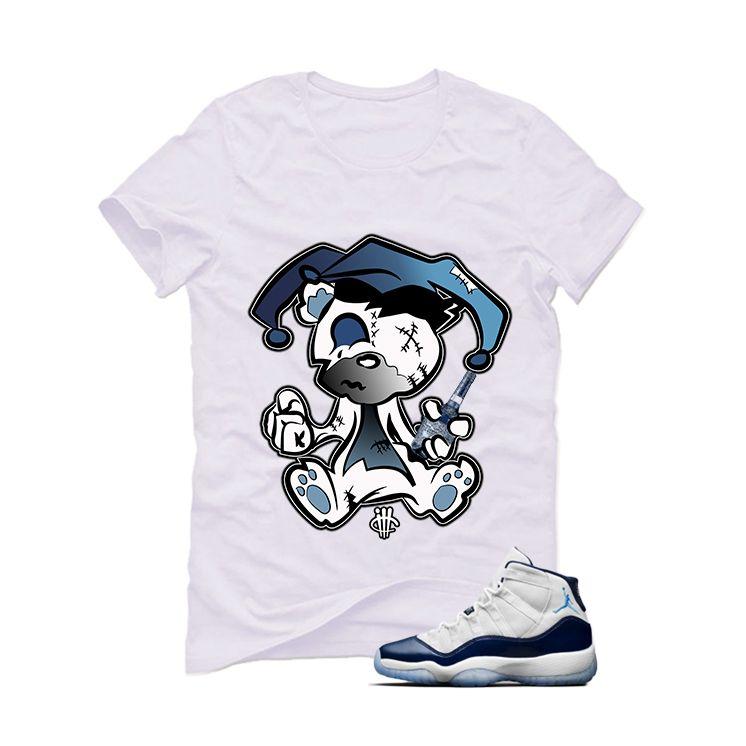 9921bcaf0c56 Air Jordan 11 (Midnight Navy) White T (Teddy Joker