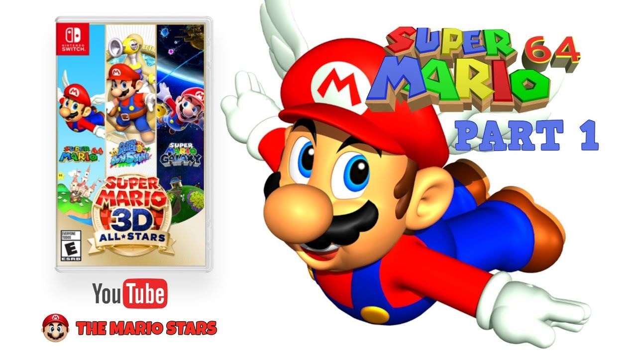 Super Mario 3d All Stars Super Mario 64 Part 1 Nel 2020 Super Mario Youtube Video
