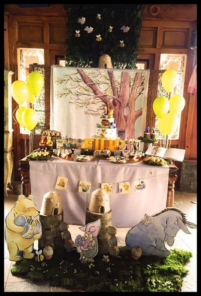 Classic Winnie The Pooh Decorations