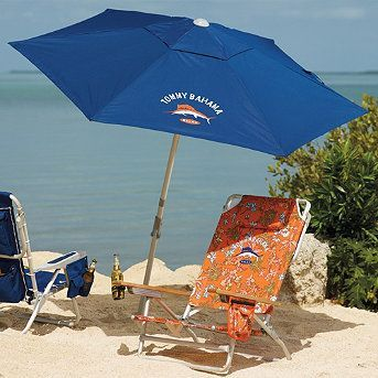 Tommy Bahama Beach Umbrella Spend The Day At The Beach Relaxing In