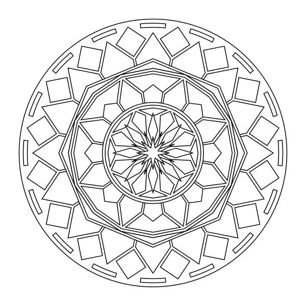 Tons of printable mandala designs free for download. Print ...