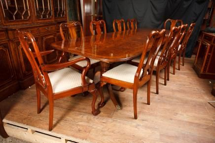 Antique Dining Room  Antique Tables And Chairs  Pinterest Cool Queen Anne Dining Room Set Decorating Inspiration
