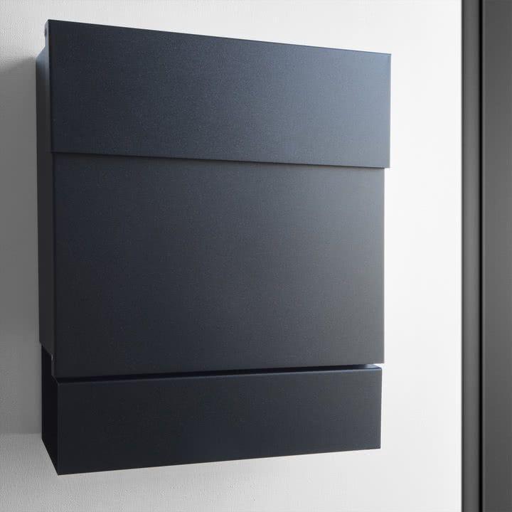 radius design briefkasten letterman v schwarz