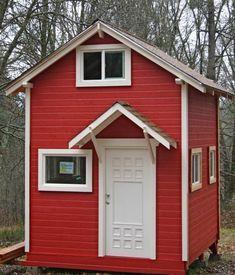 10'x12′ Tiny Garden House Cottage