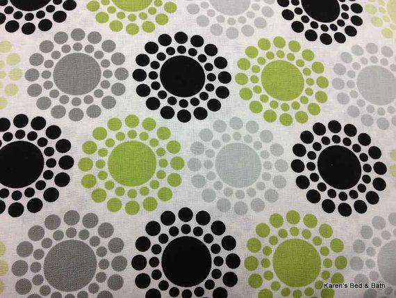 Best Green Gray Black Dots Circles Polka Dot Shape Design White 640 x 480