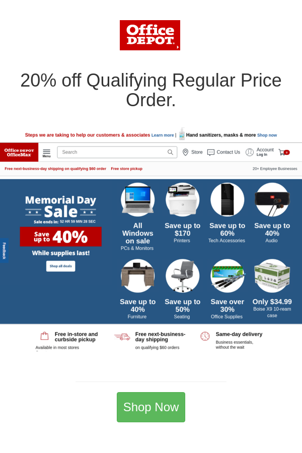 Best Deals And Coupons For Office Depot In 2020 Office Depot Depot Deal
