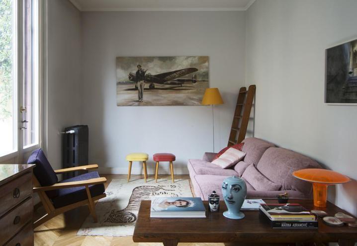 Mobili Scandinavi Modernariato : Appartamento vecchia milano tra mobili di modernariato e design d