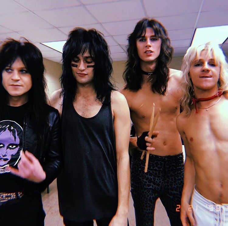 the guys who played Motley Crue in the Dirt Movie | Random