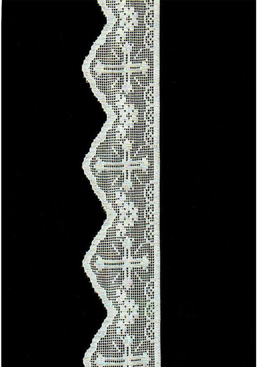 Cotton Lace Filet Italy Tuscany Pistoia Florence | Crochet Religioso ...