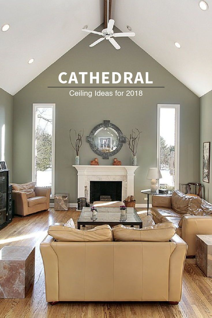 12 Types of Ceilings for Your Home | High ceiling living ...
