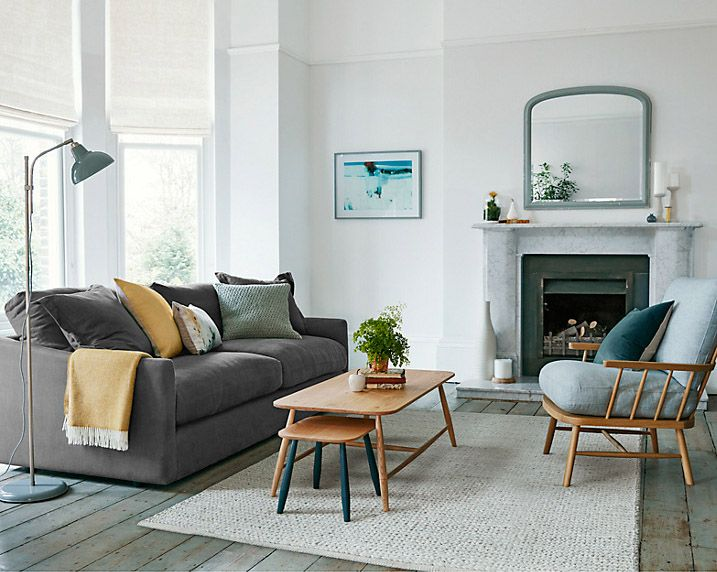 Living Room | John Lewis Croft Collection in 2020 | Scandi ...