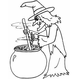 Brewing Witch- Many FREE printable coloring pages | KIDS--TEENS ...