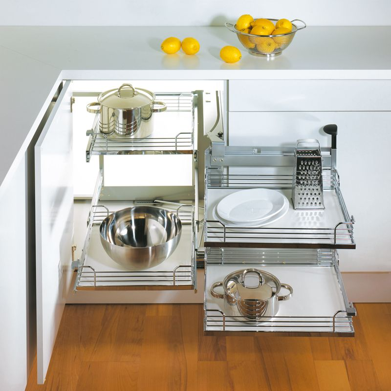 What Do You Think Of Your Blind Corner Swingout? Corner Cabinet Solutions,  Kitchen Storage