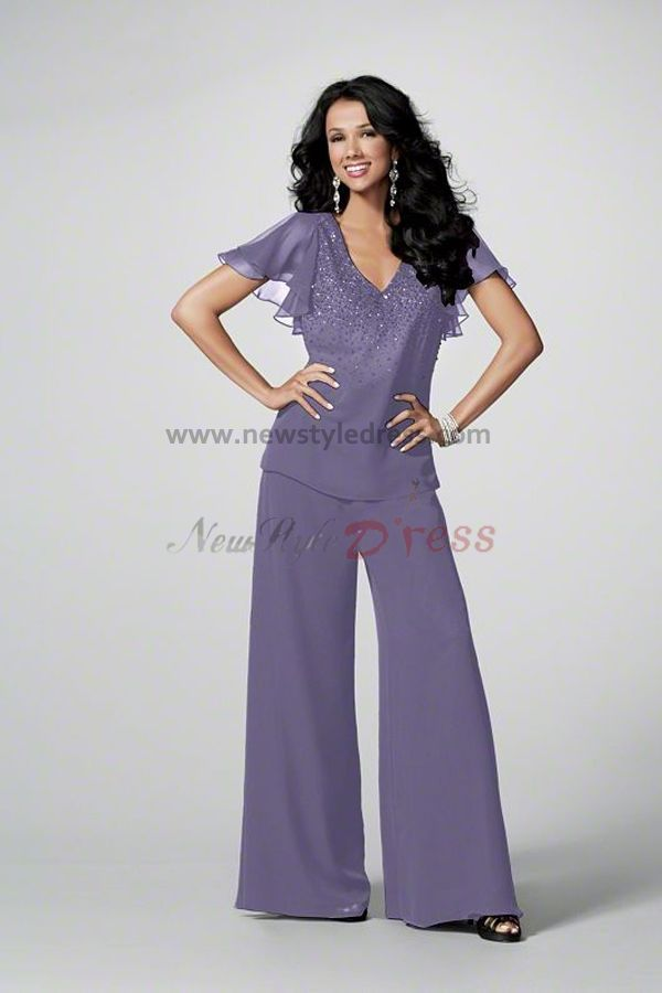Women S Dressy Pant Suits For Weddings Mother Of The Wedding Party Pants