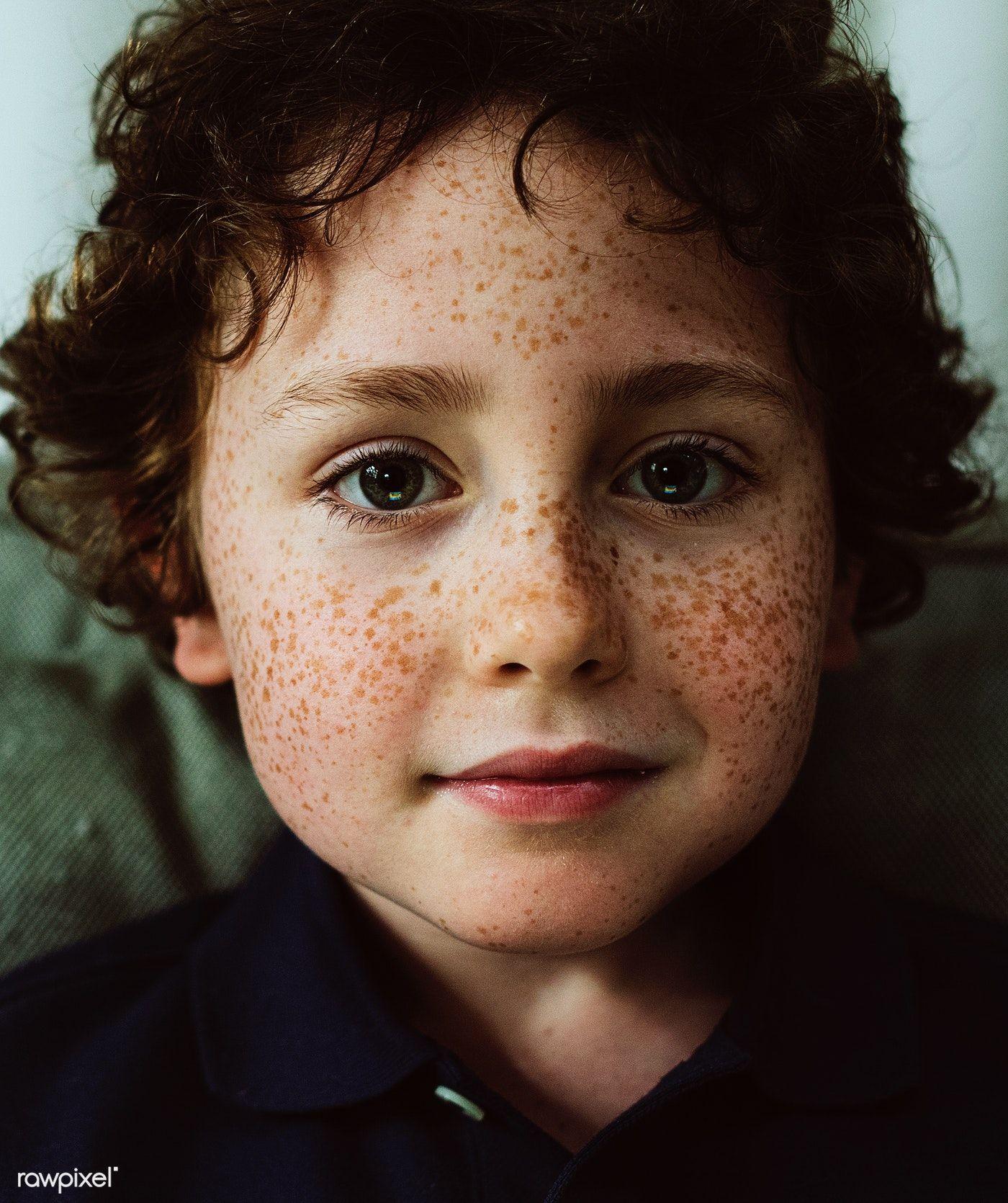Young Cheerful Caucasian Boy Portrait Premium Image By Rawpixel Com In 2020 Portrait Cute Little Boys Freckles