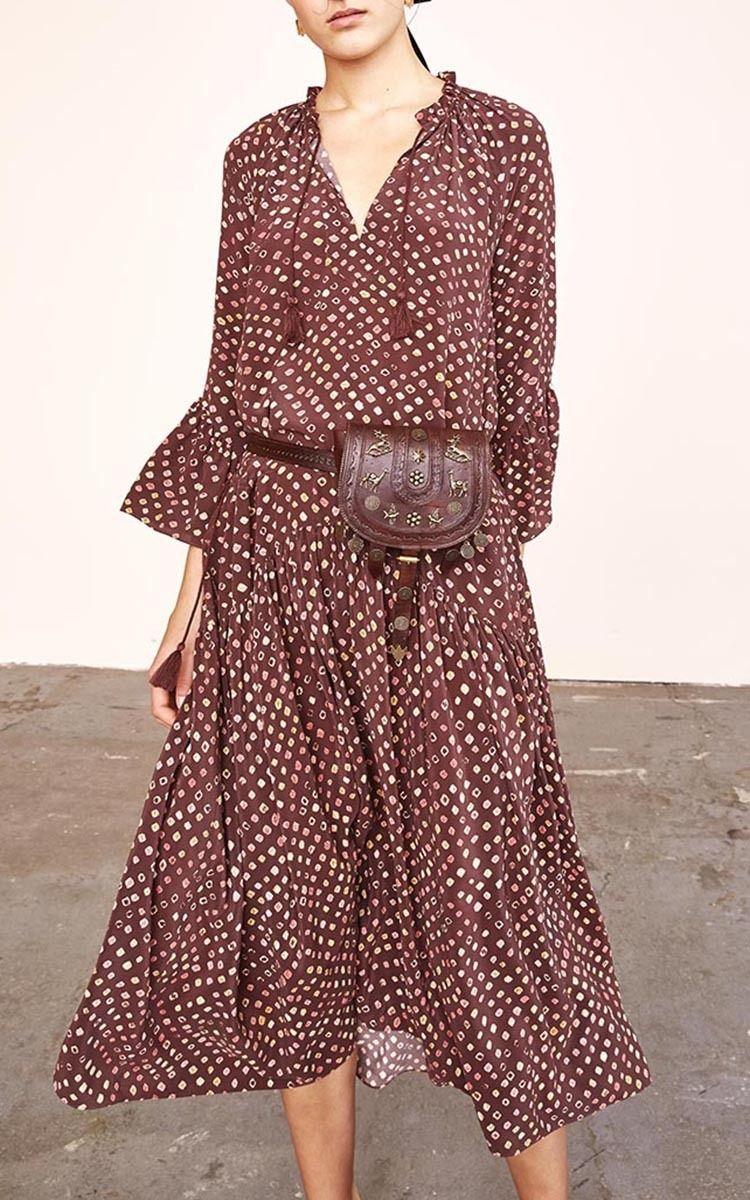 220d6cb0b Lotte Printed Midi Dress   S T Y L E N O T E S   Dresses, Fashion, Moda