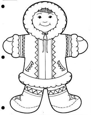 Ninos Del Mundo Colorear Ninos Del Mundo Paginas Para Colorear Invierno Preescolar