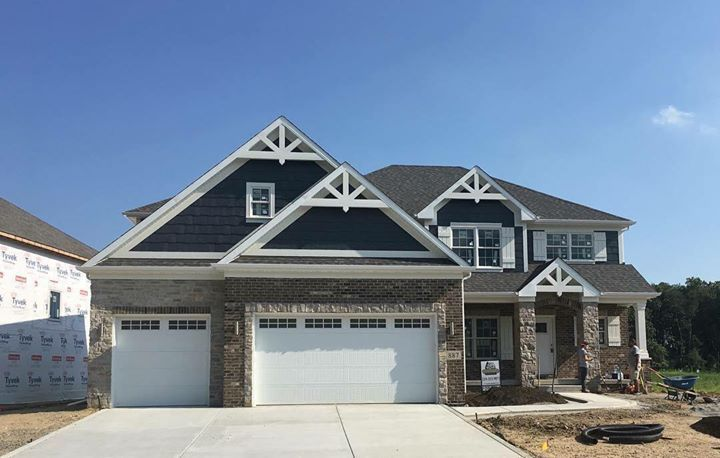 Open House This Sunday Copper Creek Subdivision In Crown Point July 16th 12pm To 3pm This Model Is 98 Finished T House Styles Copper Creek Open House