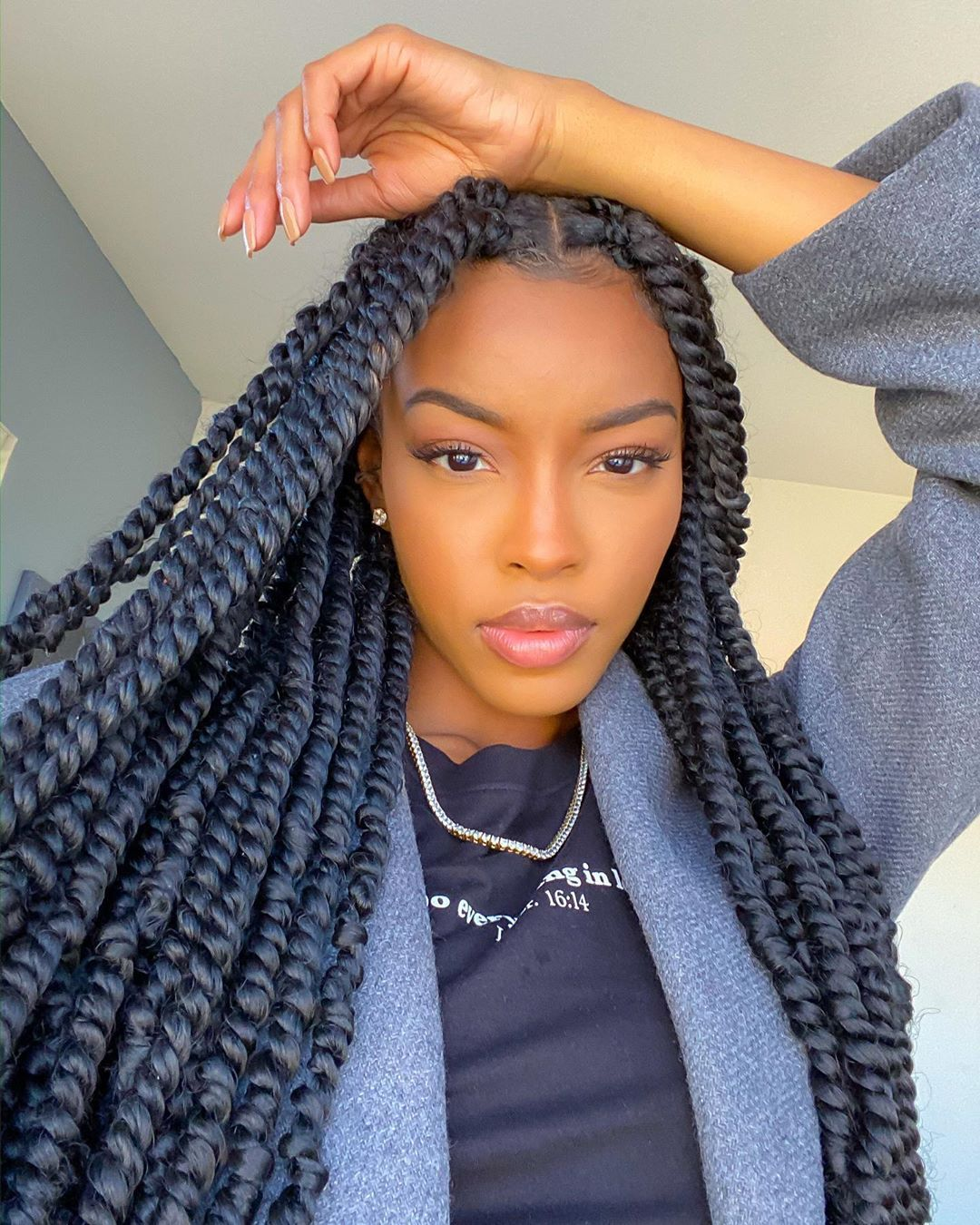 Elighty Passion Twist Hair In 2020 Natural Hair Styles Twist Hairstyles Crochet Hair Styles