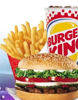 Burger King  Mmm, I can't go a month without getting myself
