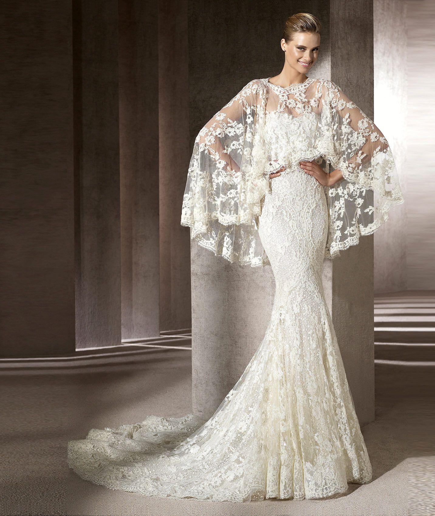 Pronovias präsentiert Ihnen das Modell Erika, Manuel Mota 2013 ...