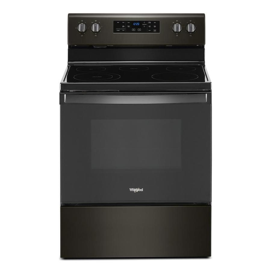 Whirlpool Smooth Surface 5 Elements 5 3 Cu Ft Self Cleaning
