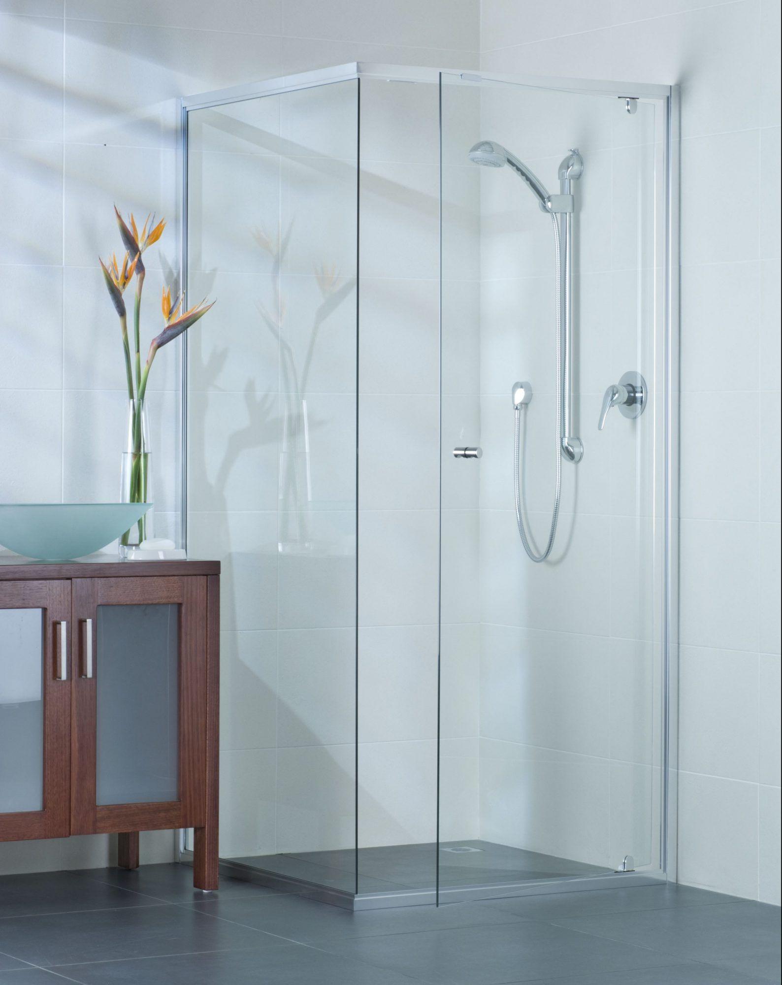 Exceptionnel Framed Shower Screen Door