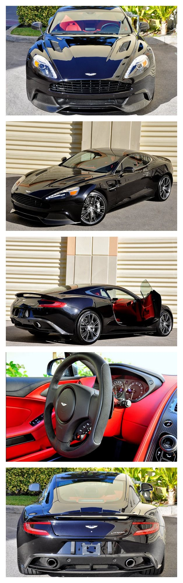 Aston Martin : Vanquish Coupe! Best Color Combo! Loaded