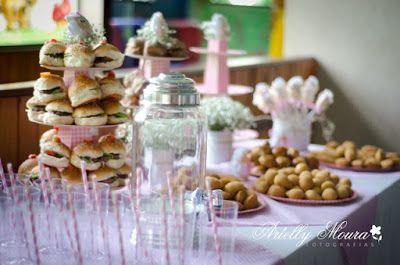 Porque toda comemoração é especial!!: Cardápio de festa infantil - sugestões e quantidades - de 1 a 5 anos