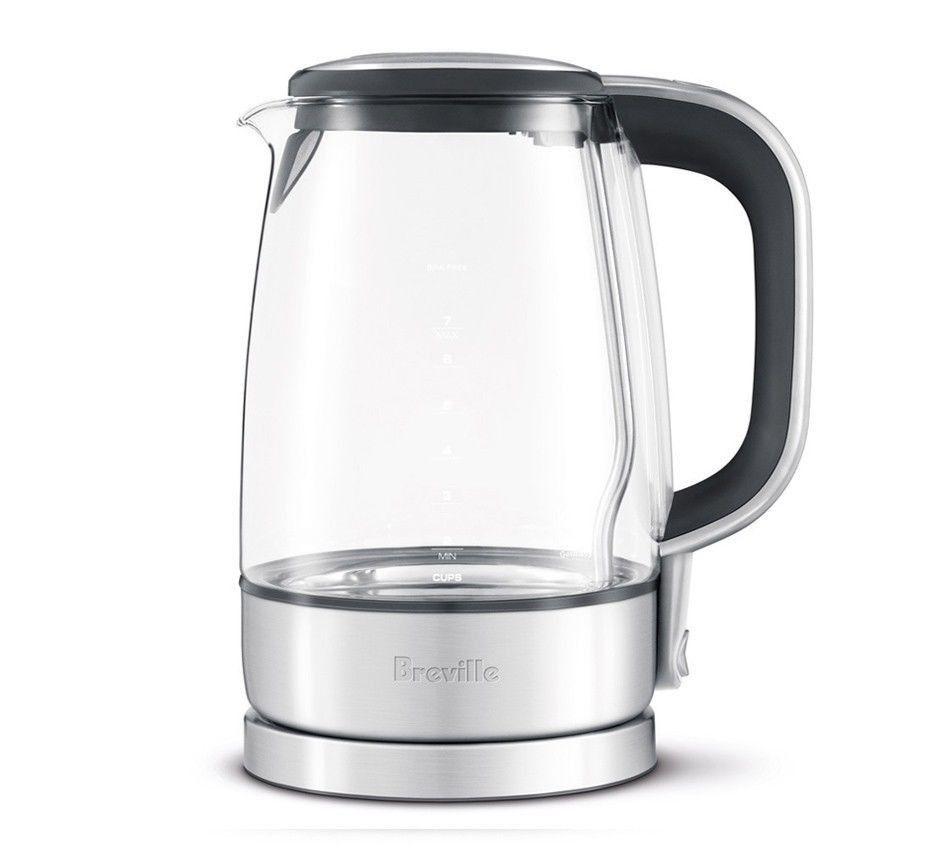 Breville The Crystal Clear Bke595xl Tea Kettle 110 Volts In 2020 Electric Tea Kettle Glass Tea Kettle Electric Kettle