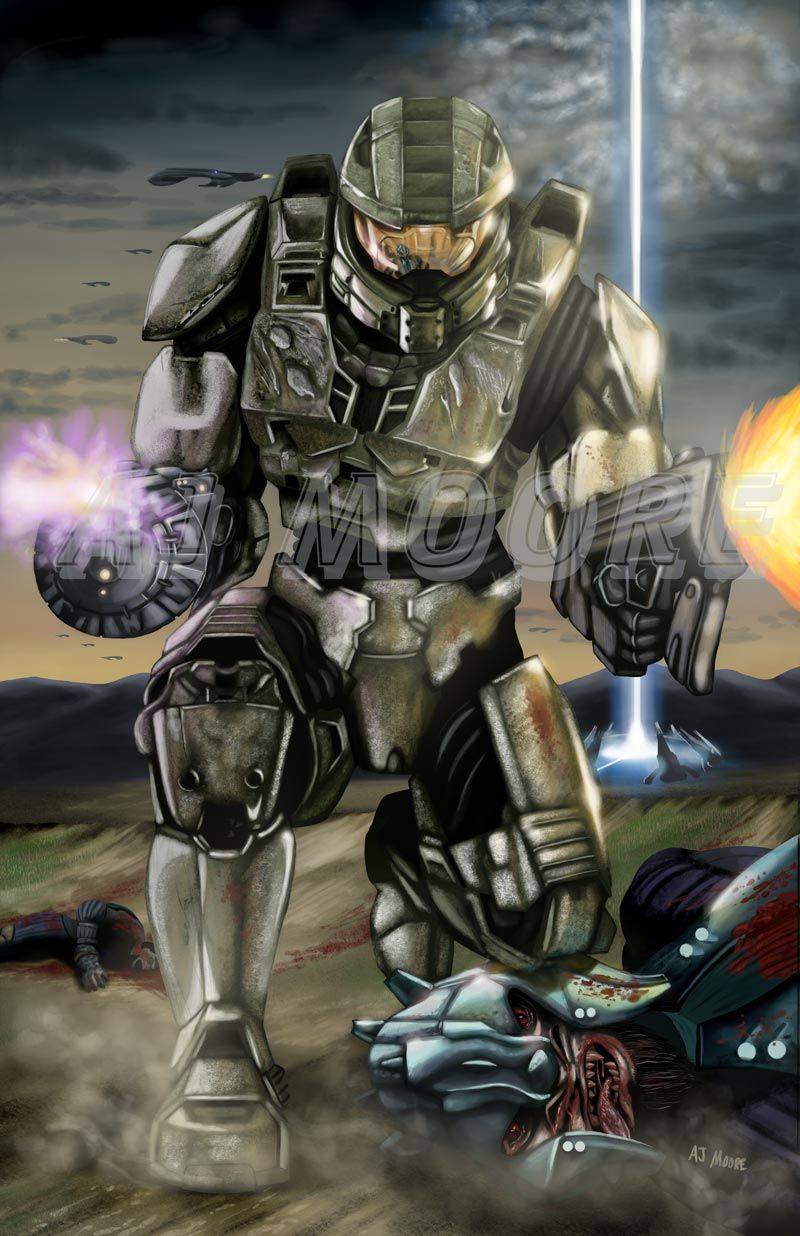 Master Chief by Gudfit