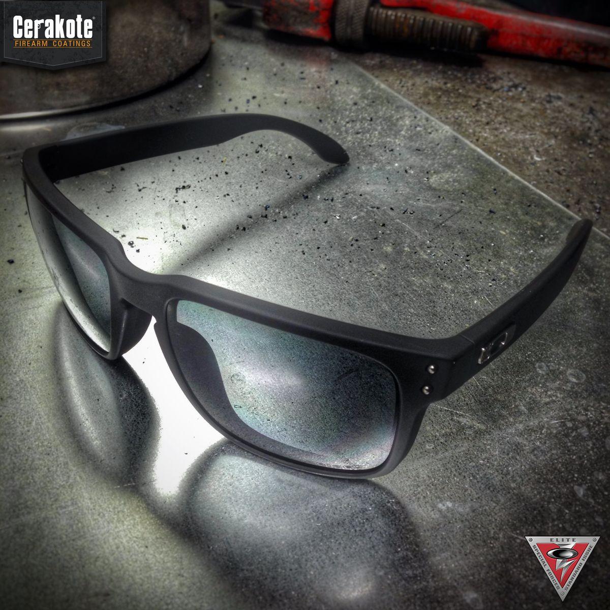 5a2a8ead3cf07 Oakley Standard Issue Holbrook sunglasses featuring Cerakote Graphite Black.