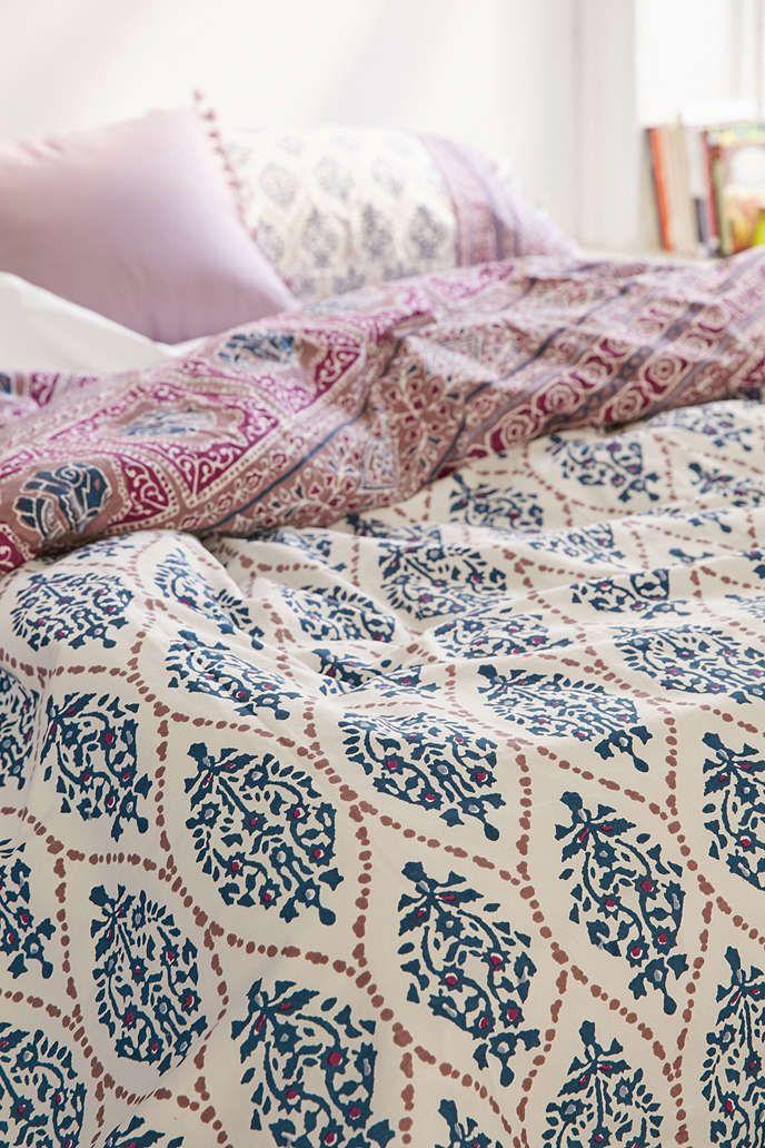 plum & bow sofia block duvet cover | duvet, bedrooms and spaces