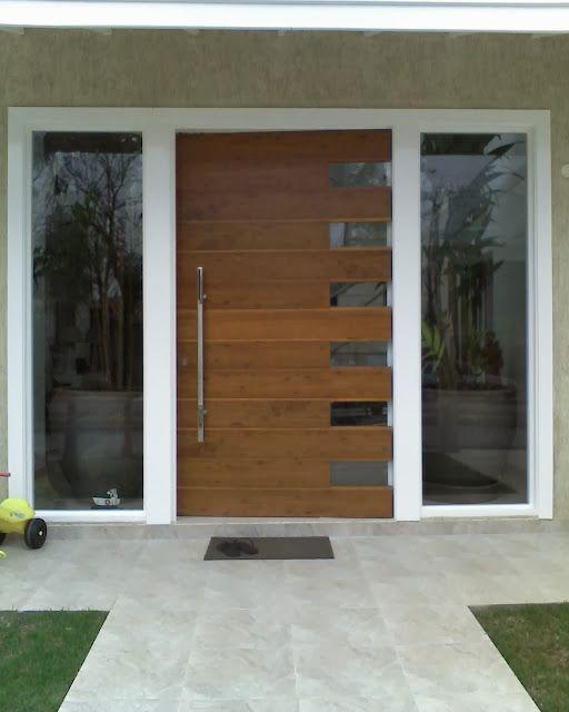 Tipos De Portas Modernas E Estilosas Tipos De Portas Porta Design Moderno Porta Pivotante