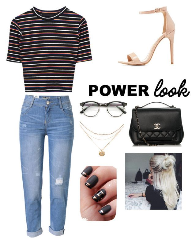"""""""Untitled #144"""" by samarialashay on Polyvore featuring WithChic, Charlotte Russe and Chanel"""